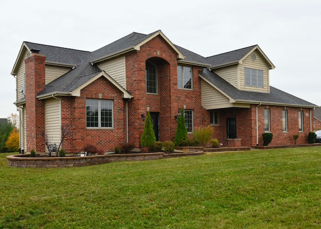 house exterior and landscape remodel